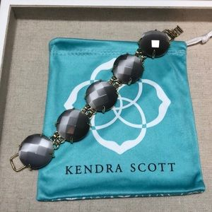 Kendra Scott Cassie bracelet- Slate Catseye